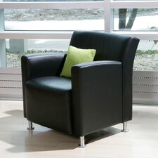 <strong>Steelcase</strong> Jenny Lounge Leather Lounge Chair