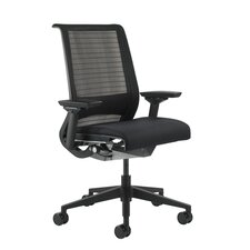 <strong>Steelcase</strong> Think Mid-Back Leather Office Chair