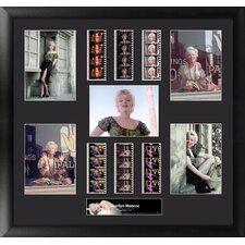 Marilyn Monroe MGC Montage FilmCell Presentation 2 Framed Memorabilia