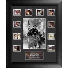 John Wayne Mini Montage FilmCell Presentation 3 Framed Memorabilia