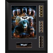 Batman The Dark Knight Trilogy Triple FilmCell Presentation Framed Memorabilia