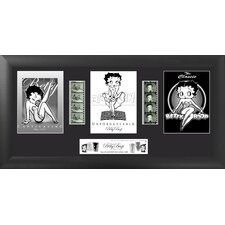 Betty Boop Trio FilmCell Presentation Framed Memorabilia