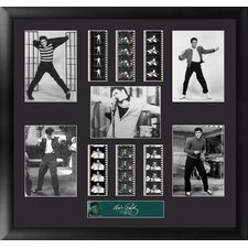 Elvis Presley Montage FilmCell Presentation Framed Memorabilia