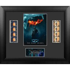 Batman The Dark Knight Double FilmCell Presentation Framed Memorabilia