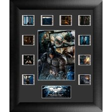 Batman The Dark Knight Rises Mini Montage FilmCell Presentation Framed Memorabilia