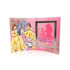 Disney Princesses (Belle) Curved Glass Print with Photo Frame