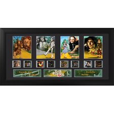 Wizard of Oz Quad FilmCell Presentation Framed Memorabilia