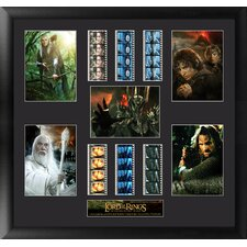 Lord of the Rings Trilogy Montage FilmCell Presentation Framed Memorabilia