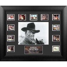 John Wayne Mini Montage FilmCell Presentation 2 Framed Memorabilia