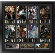 The Hobbit Character Montage FilmCell Presentation Framed Memorabilia