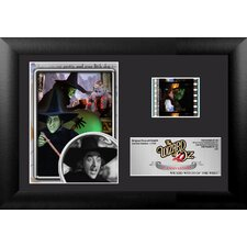 Wizard of Oz 75th Anniversary (Wicked Witch) Mini FilmCell Presentation Framed Memorabilia