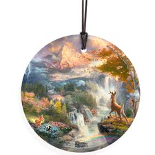 <strong>Trend Setters</strong> Thomas Kinkade (Bambi's First Year) StarFire Prints Wall Décor
