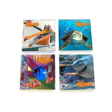 Finding Nemo Glass Print Coaster (Set of 4)