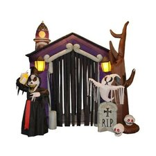 8.5' Halloween Inflatable Haunted House