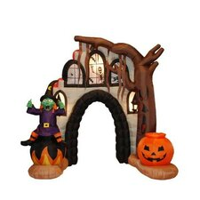 8.5' Halloween Inflatable Haunted House Arch