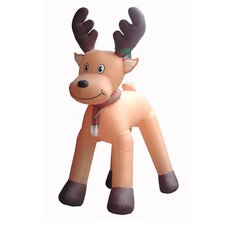Christmas Inflatables Animated Reindeer