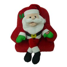 Singing Santa Claus on Sofa Musical Plush Toy with Motion