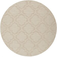 Central Park Beige Geometric Kate Area Rug