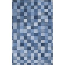 Coso Denim Pixel Patchwork Rug