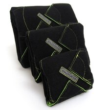 R.A.P.S! Protective Electronics Wrap Case Pack in Black/Green