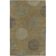 Soho Mercer Olive Green Rug