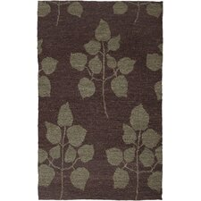<strong>AMER Rugs</strong> Tobago Design Chocolate, Hand-Woven Rug