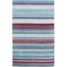 4Isabela Design Ice Blue, Hand-Woven Rug