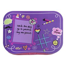 Girl's Dry Erase Lap Desk