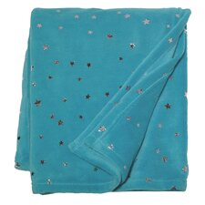 Shining Star Polyester Coral Fleece Throw