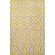 City Ivory / Yellow Area Rug