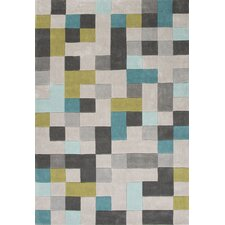 Fusion Gray/Blue Area Rug