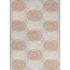 Grant Design I-O Ivory/White Solid Indoor/Outdoor Area Rug