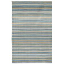 Dhurries Malibu Pastel Blue Rug
