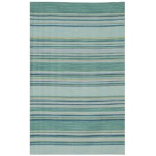 Dhurries Porcelain Blue Rug