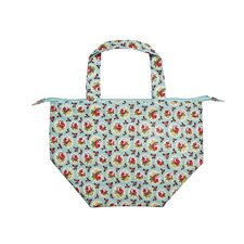 Rosy Dot Insulated Lunch Tote