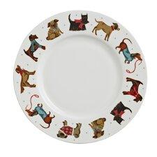 Hound Dog 27cm Bone China Dinner Plate