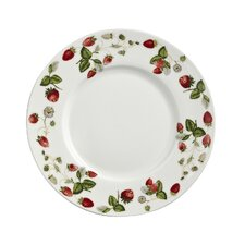 Strawberry 19cm Bone China Side Plate