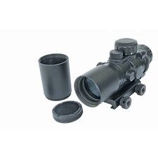 4x32 Prismatic IR Rifle Scope with Sunshade