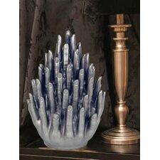 Vitruvian Touching Fingers Sculpture