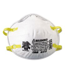 Lightweight Particulate Respirator 8210, 20/Box