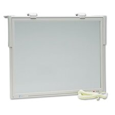Executive Flat Frame Monitor Filter, 14-16 CRT, Antirad./Static/Glare, Putty