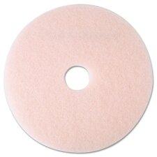 """Eraser Burnish Pad, 19"""", Pink, 5 Pads/Carton"""