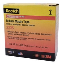 "Scotch® Rubber Mastic Tapes 2228 - 2228 2""x10' rubber mastic tape"