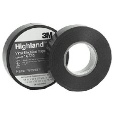 "Highland™ Vinyl Commercial Grade Electrical Tapes - highland 3/4x66 vinyl tape 1.0"" core"
