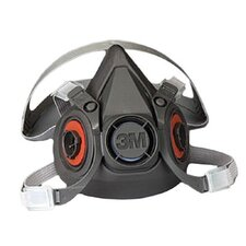 6000 Series Half Facepiece Respirators - medium respirator facepiece only 21618