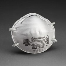 8240 R95 Particulate Disposable Respirator - NIOSH 42CFR84 (20 Per Box)
