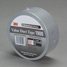 X 50 Yard Silver 5.8 Mil 1900 Value Duct Tape