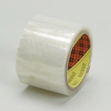 X 100M Scotch® 371 Pressure Sensitive Clear Box Sealing Tape
