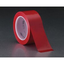 X 36 Yard 471 Red Vinyl Tape