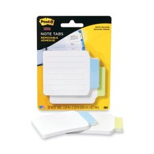 Post-It Super Sticky Removable Note Tabs, 25/Pad, 2 Pads/Pack